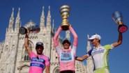 De aangepaste top 10 van de Giro 2011