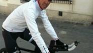 Alberto Contador is alweer aan het trainen