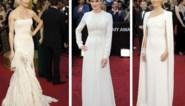 FOTOSPECIAL. Witte en strapless jurken zijn dé Oscartrends