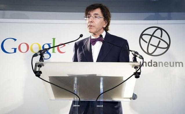 Google en documentatiecentrum Mundaneum slaan handen in elkaar