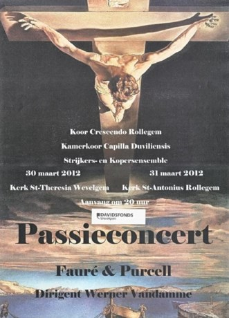 Passieconcert in Sint-Theresiakerk