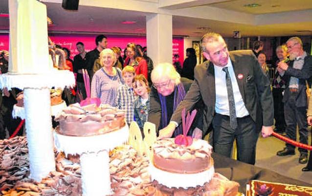 Verjaardagsfeest voor wijlen Louis Paul Boon