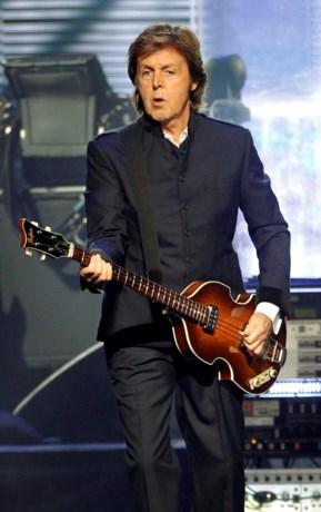 'Dode' Paul McCartney toch in Sportpaleis