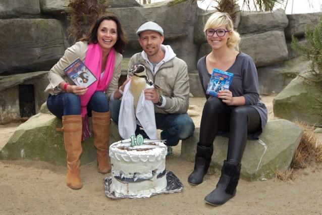 Wendy, Gunther en Eline bij de pinguïns