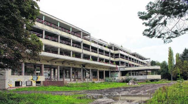 Renovatie Sanatorium loopt trager dan verwacht