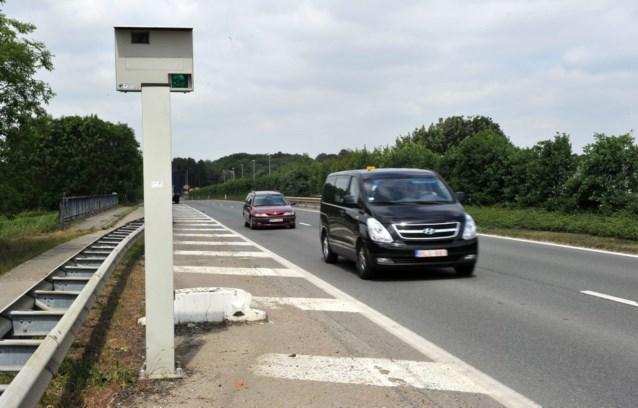 Er komen geen nieuwe flitspalen langs de snelwegen