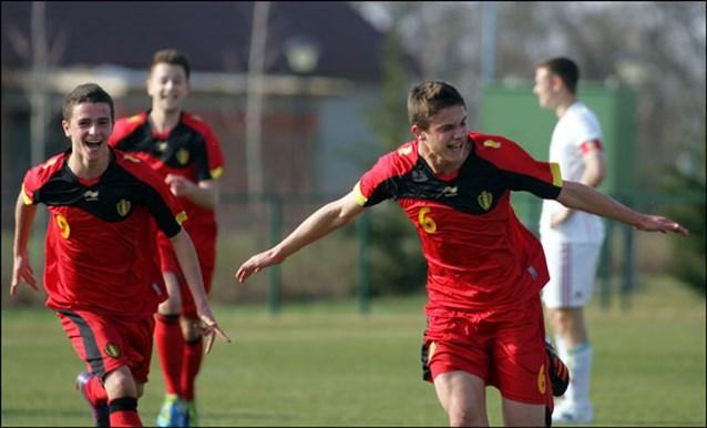 Belgische U17 lijden zware nederlaag tegen Frankrijk