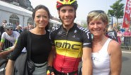 Belgisch kampioen signeert op arm first lady Lochristi