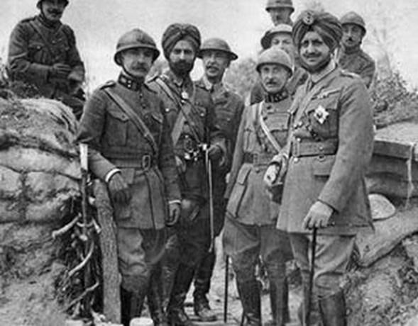 Sikhs vochten samen met Vlamingen in Eerste Wereldoorlog
