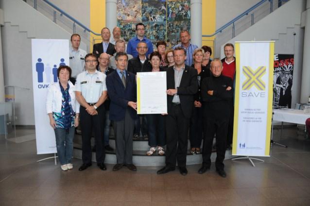 Bredene ondertekent SAVE-charter