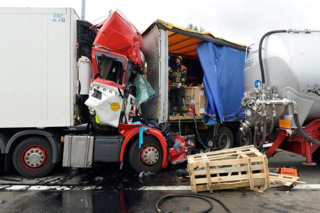 Chaotische dag op Vlaamse snelwegen