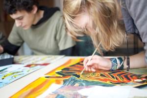 Verbouwingen en tentoonstelling bij de Hagelandse Academie voor Beeldende Kunst