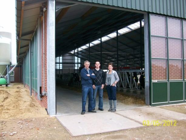 Opendeurdag bij melkveebedrijf familie Bruurs