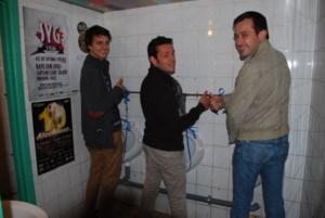 Eindelijk weer toiletten in Jeugdhuis De Resoor