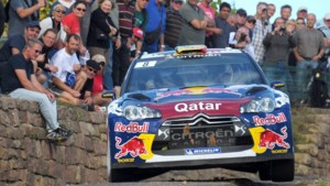 Thierry Neuville knap tweede in rally van Luxemburg