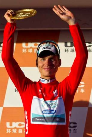 Tony Martin wint Ronde van Peking