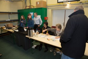 FOTO. Duffelaars massaal naar de stembus