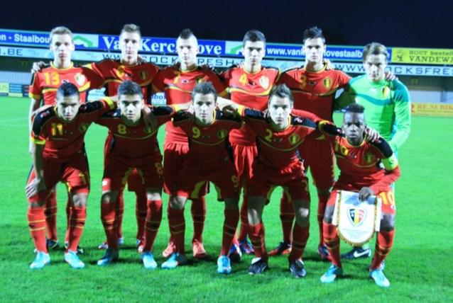 Belgische U17 al zeker van eliteronde voor EK-kwalificatie