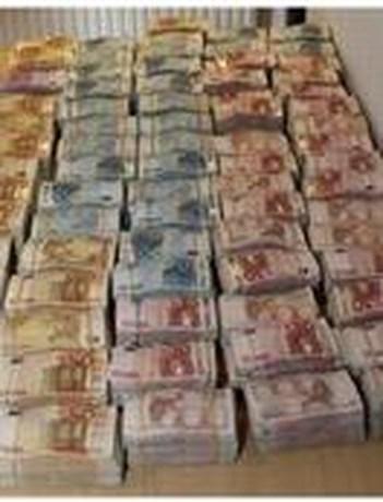 Dealer gevat met 1,1 miljoen euro cash