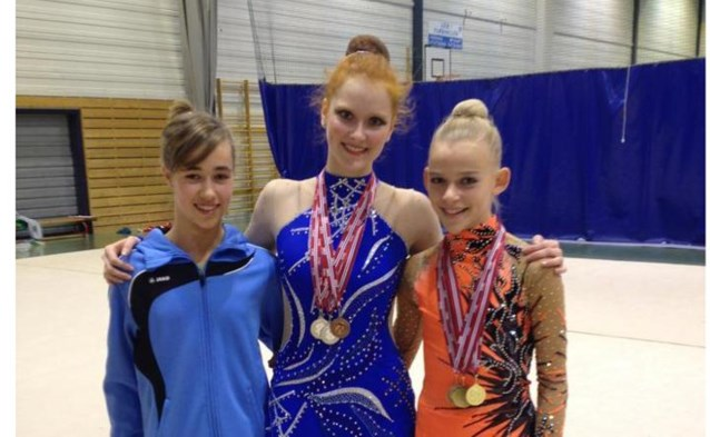 Gym Mol behaalt goud en brons