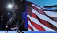 IN BEELD. De overwinningsspeech van Barack Obama