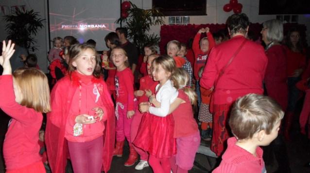 Sintemariaschool kleurt rood voor Fiesta Morgana