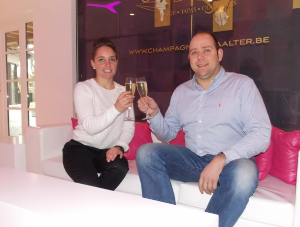 Champagnebar in Aalter
