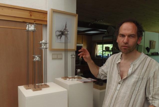 Beeldhouwer Luc De Man stelt tentoon in New York