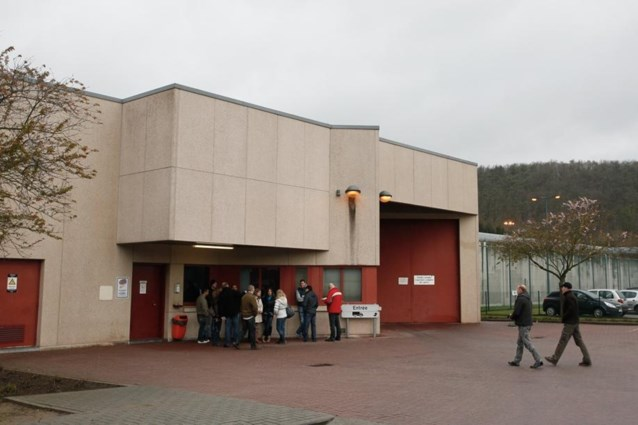 Staking in gevangenis Andenne