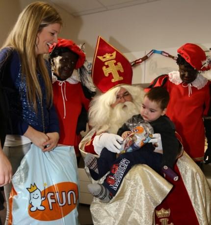 Sint op bezoek in kinderrevalidatie-centrum UZ Gent