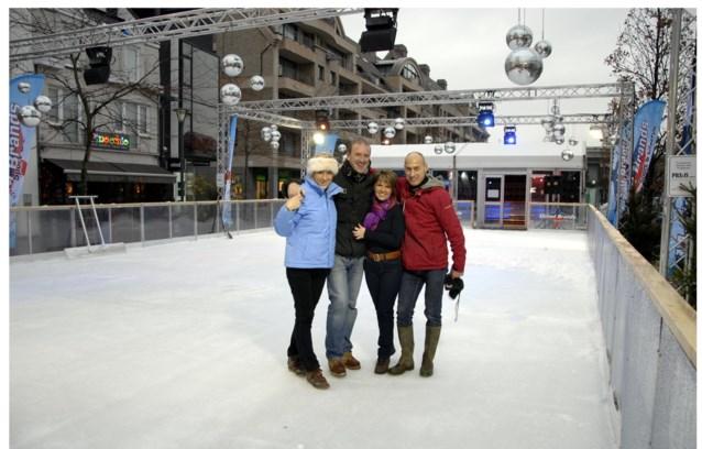 Dankzij handelaars eindelijk weer schaatspret in Kortrijk
