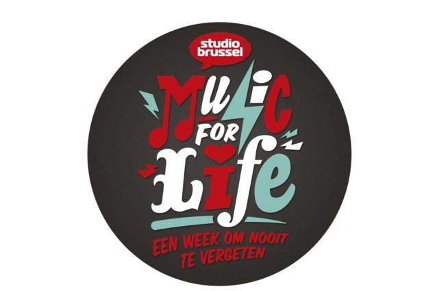 625.000 mensen droegen Music for life-badge