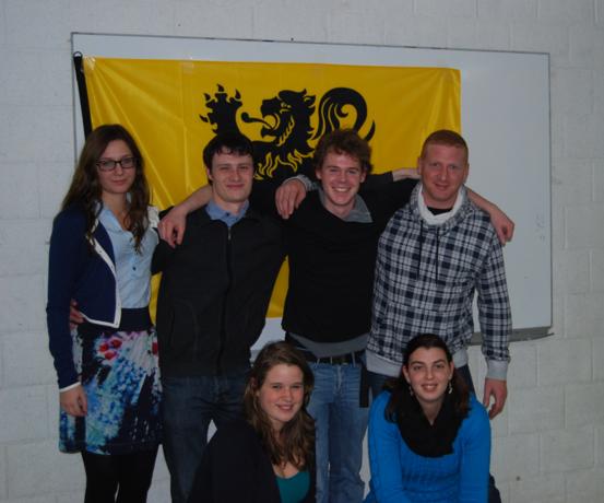 Nieuw bestuur bij Jong N-VA Tielt-Winge