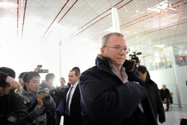 Google-topman op bezoek in Noord-Korea