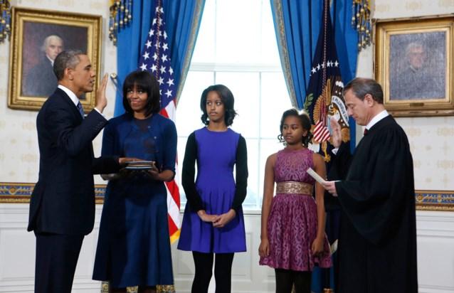 Obama kan aan 'vervloekte' tweede termijn beginnen