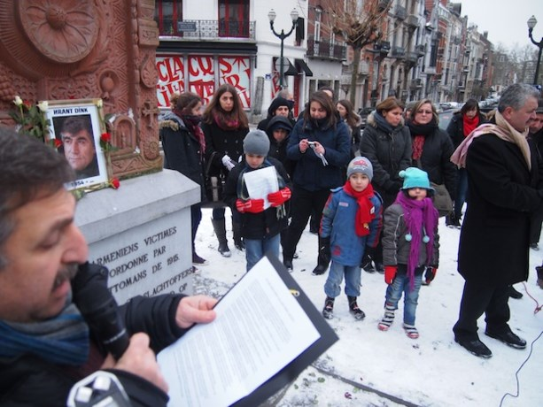 Vermoorde Armeense journalist herdacht