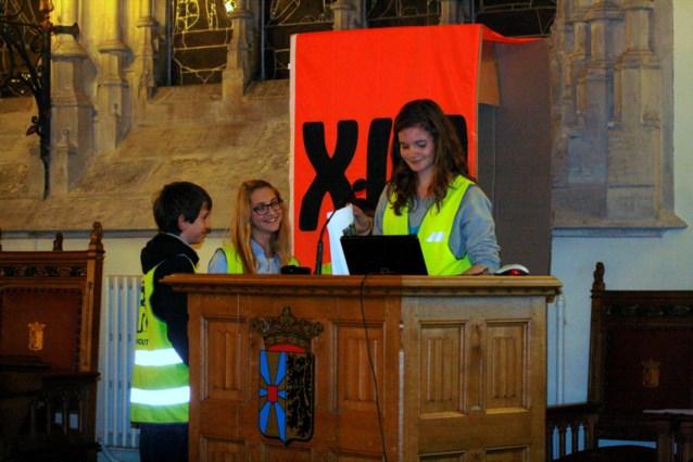 Leerlingen van Middenschool Sint-Rembert in de kijker tijdens academische zitting XIU