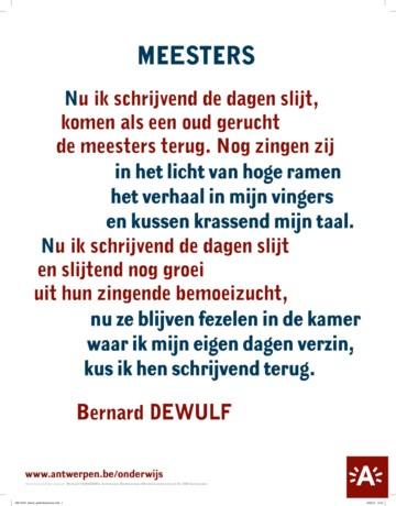 Oproep Wat Is Het Mooiste Gedicht Over Antwerpen