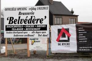 Taverne 'Ter Linden' wordt 'Brasserie Belvédère'