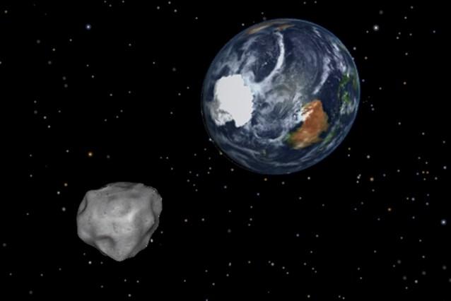 Aarde neemt revanche op asteroïde 2012 DA14
