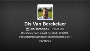 Burgemeester op Twitter