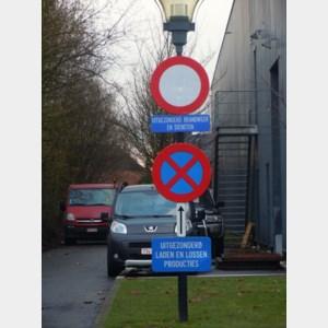 Brandweg als sluipweg gebruiken brengt voetgangers in gevaar