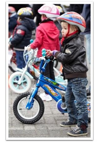 DreamLand leert 4.480 kindjes fietsen tijdens 'Let's Bike!'