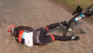 Cancellara valt tijdens verkenning Parijs-Roubaix