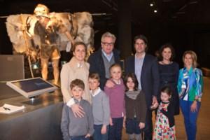 FOTO. Laurent en Claire met kinderen naar Gallo-Romeins museum