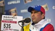 Capriles roept op tot dialoog