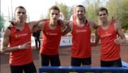 Drie Borlée's en Arnaud Destatte lopen nieuw Belgisch clubrecord op 4 x 400 m