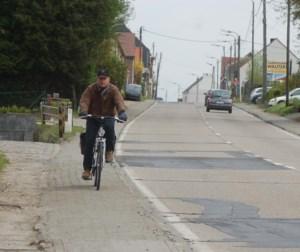 Weinig hoop op snelle beterschap voor slechtste fietspad