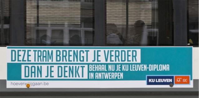 Leuvense universiteit ronselt studenten in Antwerpen