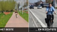 'Levensgevaarlijk!': Allerslechtste fietspad van Vlaanderen ligt in Ninove